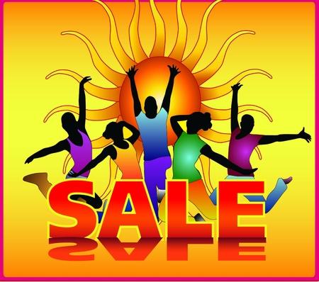 summer sale poster Stock Vector - 9519541