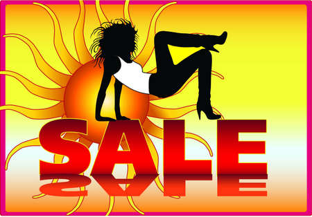sale poster design Stock Vector - 9519539
