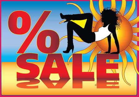 discount sale Stock Vector - 9989363