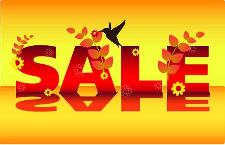 winter sale vector Stock Vector - 12686945