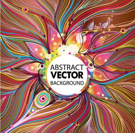 Abstract Vector background Ilustração