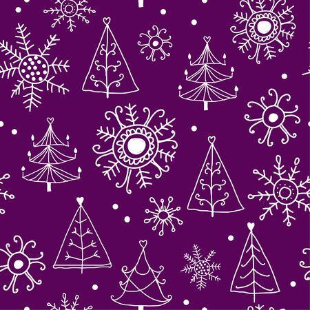 Christmas pattern Stock Vector - 15544337