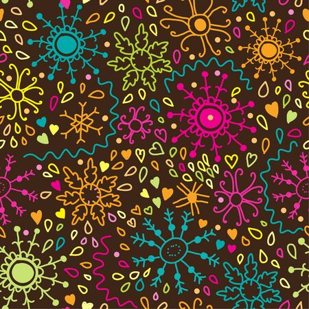 Floral seamless pattern in vector Stock Vector - 16566305