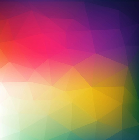 Colorful abstract geometric background with triangular polygons   Stock Vector - 19716467