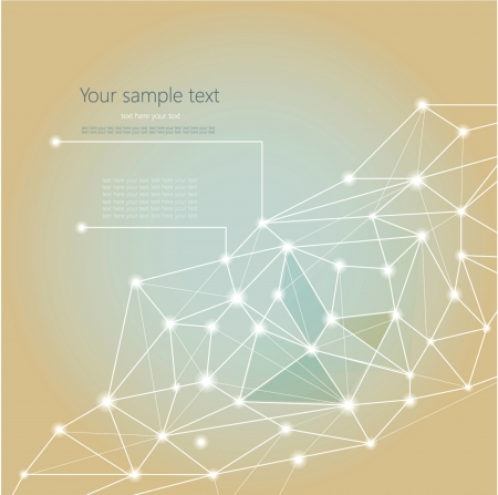 Abstract Geometric Background with place for your text  Illustration