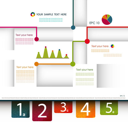 fully: Design template. Fully editable vector.