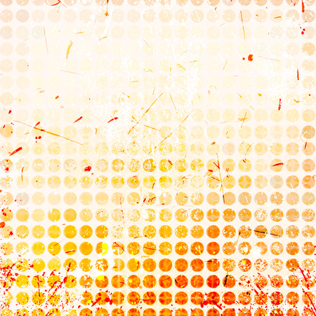 Abstract circles background with grunge paper. photo