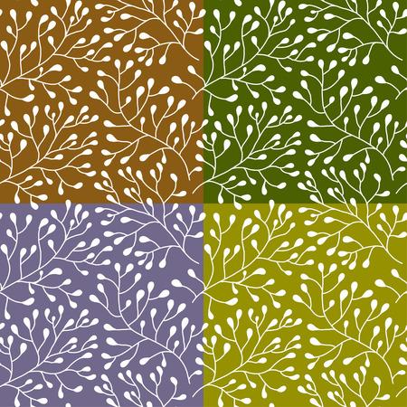 Floral seamless pattern.Seamless Textur mit Blumen. Nahtlose Muster kann für Tapeten, Muster füllt, Web-Seite Hintergrund, Oberflächenstrukturen