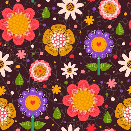 creative beauty: Floral seamless pattern.Seamless texture with flowers.Seamless pattern can be used for wallpaper, pattern fills, web page background, surface textures.