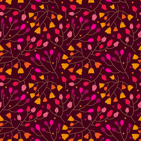 creative beauty: Floral seamless pattern.Seamless pattern can be used for wallpaper, pattern fills, web page background,surface textures