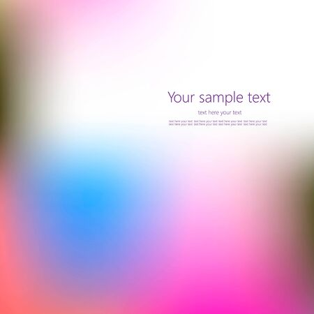 Abstract concept multicolored blurred background.