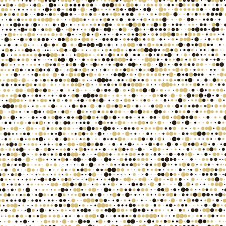 Holiday background. Abstract seamless pattern with dots. Vector illustration. Çizim