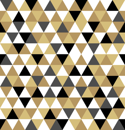 Abstract geometric pattern. Seamless background. Vector illustration.