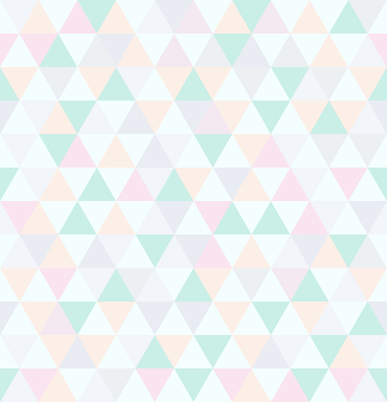 Abstract seamless pattern. Geometric background from triangles. Vector illustration.