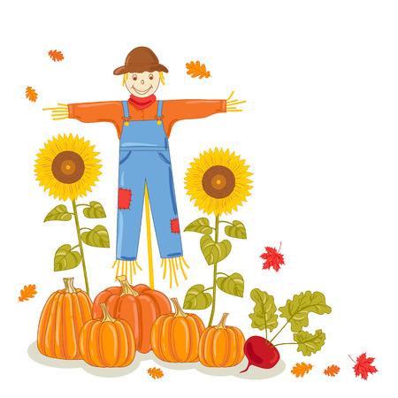 Autumn. Vector illustration.