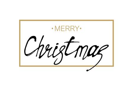 Carte de voeux. Joyeux Noël.