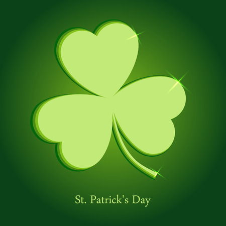 St. Patrick's day. Vector illustration. Illustration