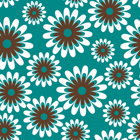 Seamless vector floral pattern. Ornament can be used as wallpaper.