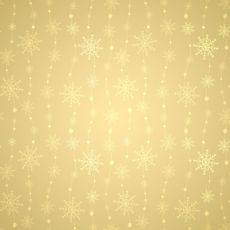 Celebratory pattern with snowflakes. Vector Illustration.
