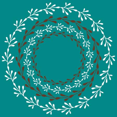 Retro pattern. Vector floral pattern. Stok Fotoğraf - 123069956