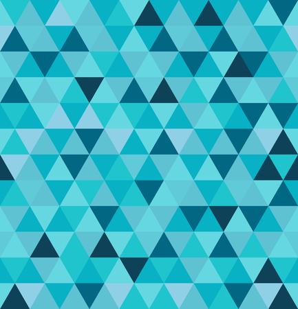 Abstract seamless pattern. Geometric background from triangles. Vector illustration. Stok Fotoğraf - 123521111