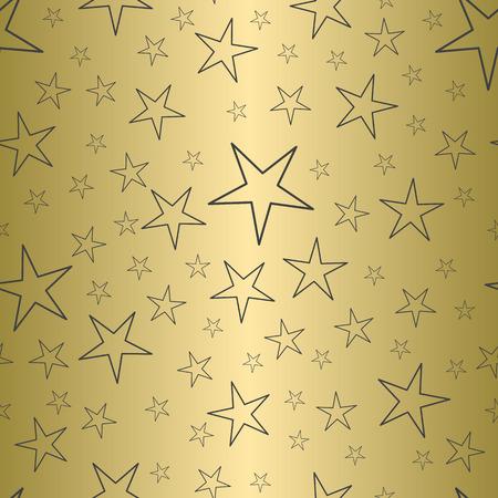 Holiday seamless pattern. Christmas star. Vector illustration. Stok Fotoğraf - 123521122