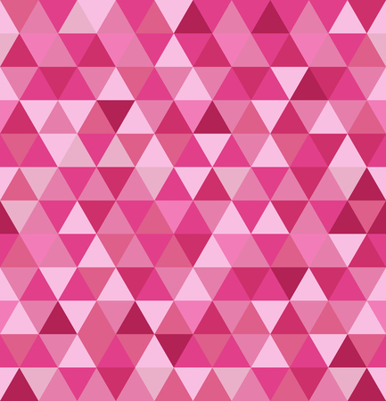 Abstract seamless pattern. Geometric background from triangles.