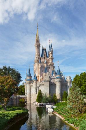 MAGIC KINDOM DISNEYWORLD, ORLANDO, FLORIDA, USA - DEC 27   The Magic Kingdom Disneyworl, Orlando, Florida, USA, 27 December 2013  The Disneyland in Orlando is the biggest amusement park and attractions in the world