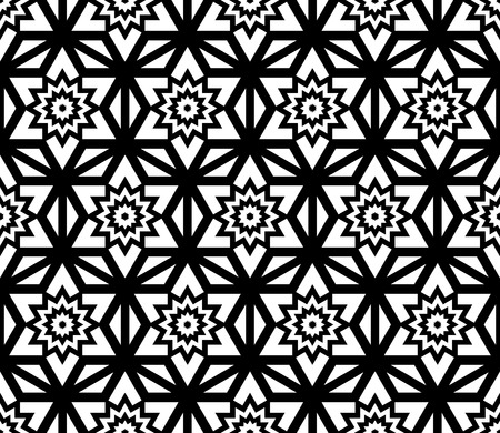 bed sheets: Vector modern seamless pattern flower, black and white textile print, stylish background, abstract texture, monochrome fashion design, bed sheets or pillow pattern