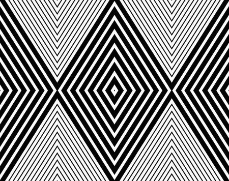 bed sheets: Vector modern seamless pattern lines, black and white textile print, stylish background, abstract texture, monochrome fashion design, bed sheets or pillow pattern Illustration