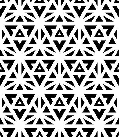 bed sheets: Vector modern seamless pattern, black and white textile print, stylish background, abstract texture, monochrome fashion design sacred geometry, bed sheets or pillow pattern