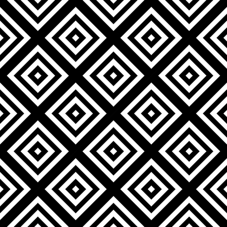 bed sheets: Vector modern seamless pattern, black and white textile print, stylish background, abstract texture, monochrome fashion design rhonduses, bed sheets or pillow pattern