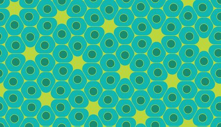 blue cells: Vector modern seamless colorful geometry pattern, cells, color green blue abstract geometric background, trendy multicolored print, retro texture, hipster fashion design
