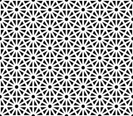 Pattern Geometry Vector Modern Seamless Sacred Geometry Pattern Black And  White .