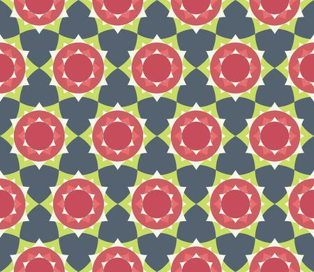 petal: modern seamless colorful geometry petal flower mandala pattern, color abstract geometric background