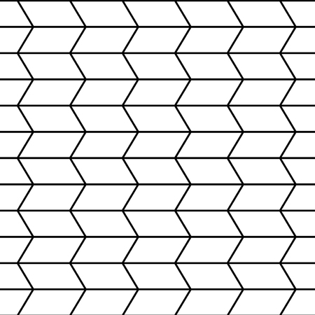 trippy: Vector modern seamless geometry pattern trippy, black and white abstract geometric background, pillow print, monochrome retro texture, hipster fashion Illustration