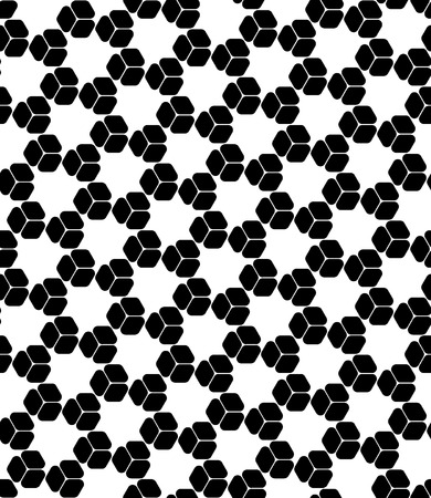 tile pattern: Vector modern seamless sacred geometry pattern grid, black and white abstract geometric background, trendy print, monochrome retro texture, hipster fashion design