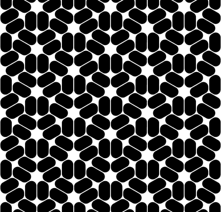 trippy: Vector modern seamless sacred geometry pattern trippy, black and white abstract geometric background, trendy print, monochrome retro texture, hipster fashion design