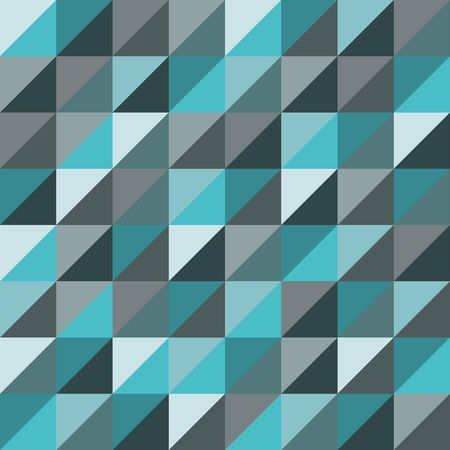 sheets: Vector modern seamless colorful geometry triangles pattern, color blue abstract geometric background, pillow multicolored print, retro texture, hipster fashion design