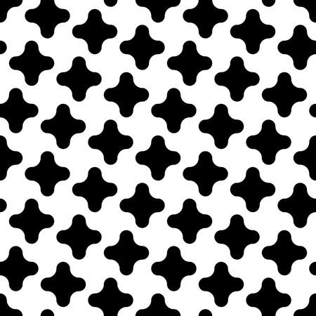 geometry: modern seamless geometry pattern crosses Illustration