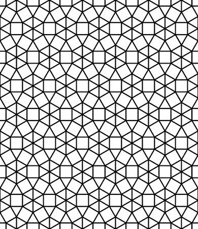Vector Moderno Senza Soluzione Di Continuità Mosaico Sacro Modello