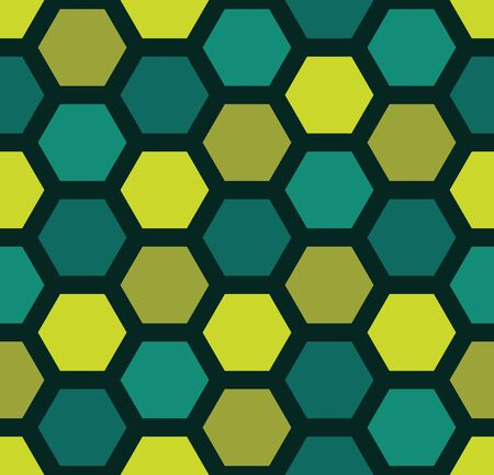sheets: Vector modern seamless colorful geometry hexagon pattern, color abstract geometric background, pillow multicolored print, retro texture, hipster fashion design