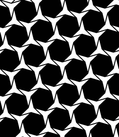 three points: Vector modern seamless geometry pattern, black and white abstract geometric background, subtle pillow print, monochrome retro texture, hipster fashion design