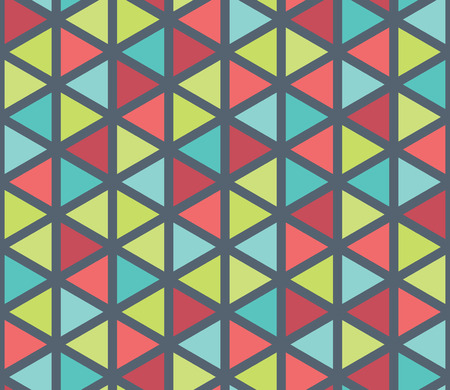 trippy: Vector modern seamless colorful geometry triangle pattern, color abstract geometric background, pillow multicolored print, retro texture, hipster fashion design
