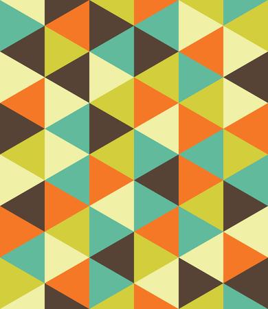 Moderno del vector patrón de colores sin fisuras escuadra de dibujo, fondo geométrico abstracto de color, una almohada de impresión multicolor, retro textura, diseño de moda del inconformista
