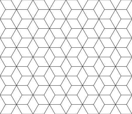 Vector modern seamless sacred geometry pattern, black and white abstract geometric background, subtle pillow print, monochrome retro texture, hipster fashion design