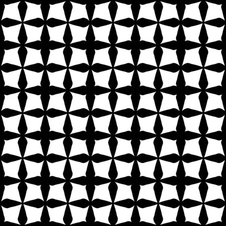 Vector cuadrados modelo moderno geometría transparente, fondo blanco y negro abstracto geométrico, impresión almohada sutil, blanco y negro retro textura, diseño de moda del inconformista