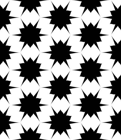 subtle: Vector modern seamless geometry pattern, black and white abstract geometric background, subtle pillow print, monochrome retro texture, hipster fashion design