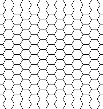 Vector modern seamless geometry pattern hexagon, black and white abstract geometric background, pillow print, monochrome retro texture, hipster fashion design