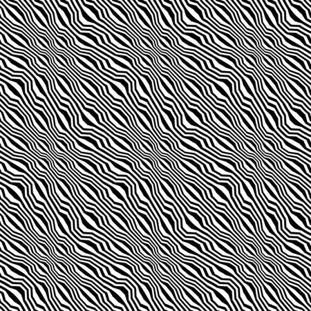 trippy: Vector hipster abstract geometry trippy pattern with stripes , black and white seamless geometric background, subtle pillow and bad sheet print, creative art deco, simple wood texture, modern fashion design